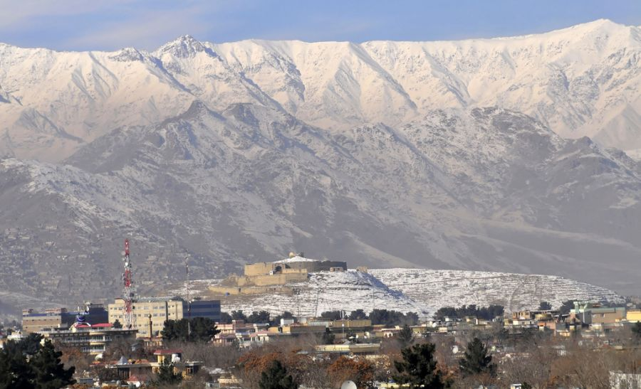 Hindu Kush from Kabul in Afghanistan