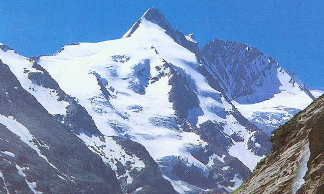 A Photo Gallery of the Gross Glockner, 3798m, the highest mountain in Austria