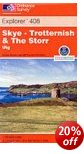 Skye: Trotternish & the Storr - OS Explorer Map