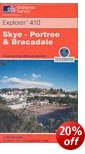 Skye: Portree & Bracadale - OS Explorer Map