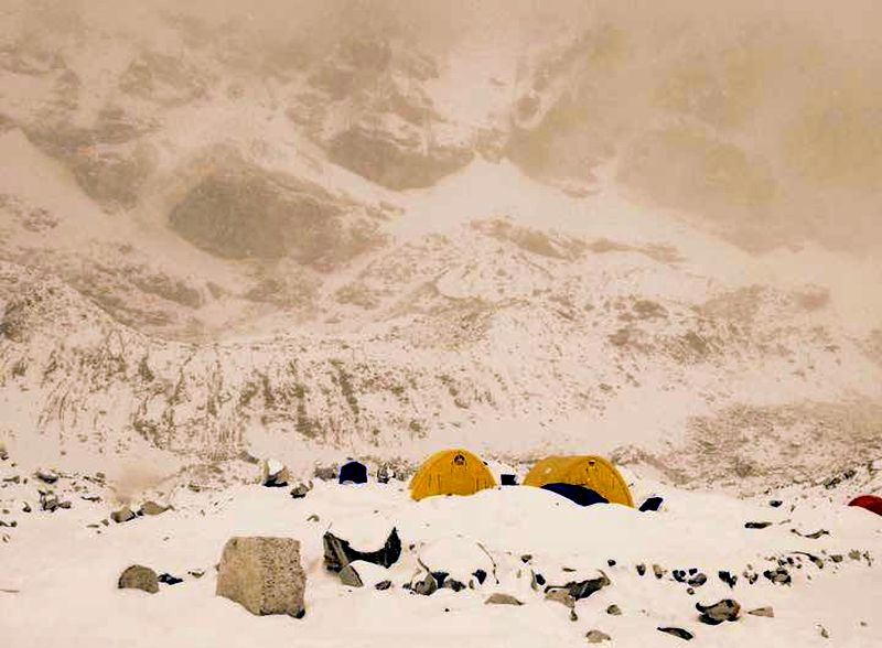 Base Camp for Mount Everest