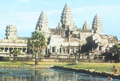 Photo Gallery of Angkor Wat in Cambodia ( Kampuchea )