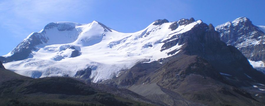 Mount Athabasca in the Canadian Rockies of Alberta