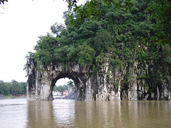 Elephant Trunk Hill at Guilin in SW China