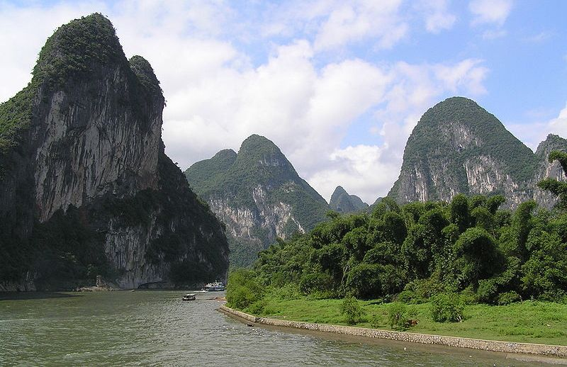 Lijiang River at Guilin in SW China