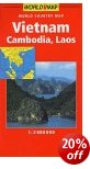 Vietnam, Cambodia & Laos Map