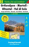 Ortler Mountains Map