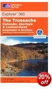The Trossachs - OS Explorer Map