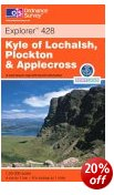 Kyle of Lochalsh, Plockton, Applecross - OS Explorer Map