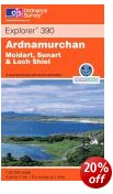 Ardnamurchan - OS Explorer Map