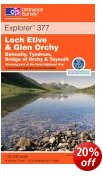 Loch Etive & Glen Orchy - OS Explorer Map
