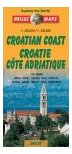 Croatia - Adriatic Coast & Istria - Nelles Travel Map