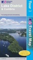 Lake District & Cumbria - OS Travel Map