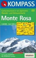Monte Rosa Map