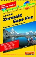 Zermatt Region Hiking Map