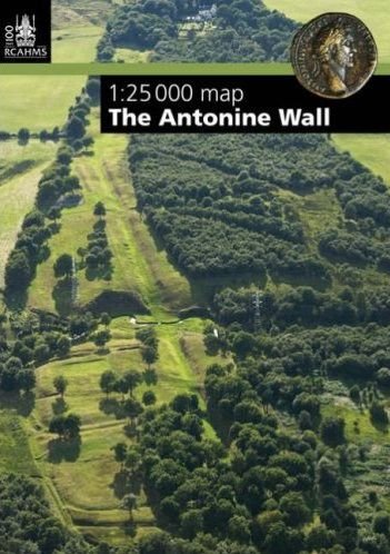 Antonine Wall - Map