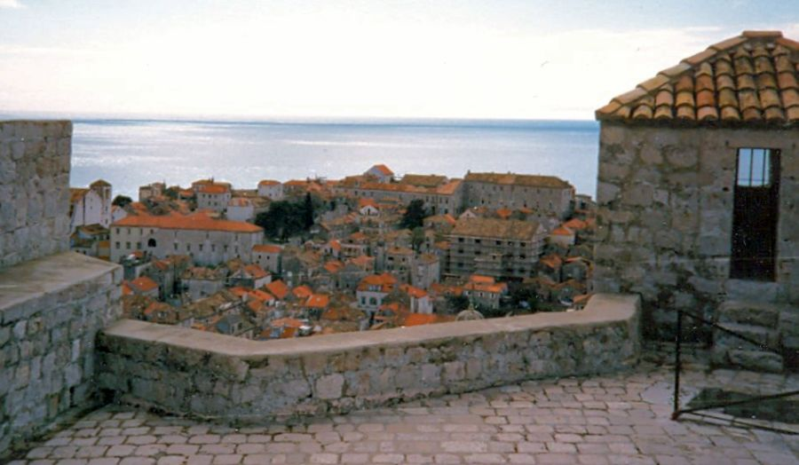 View of Dubrovnik from Castle Ramparts