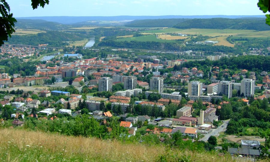 Beroun Town in the Central Bohemian Region of the Czech Republic