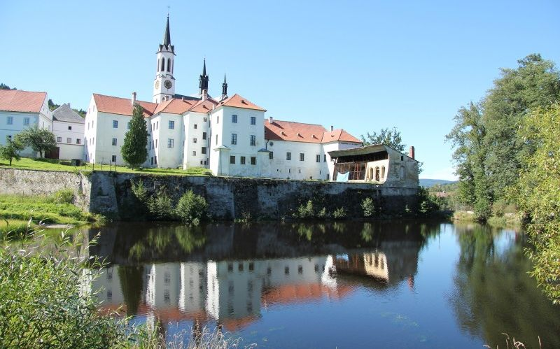 Vyssi Brod Monastery in the Czech Republic