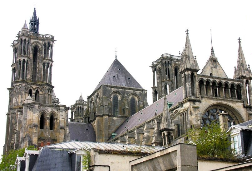 Cathedral of Notre Dame at Laon in France