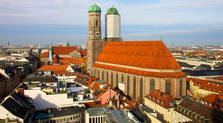 Frauenkirche in Munich in Bavaria in Germany