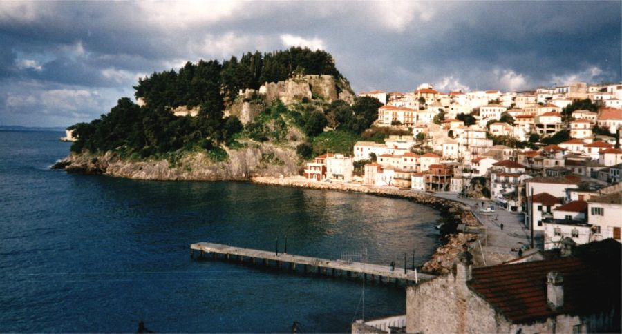 Parga on the Ionian Coast of Greece