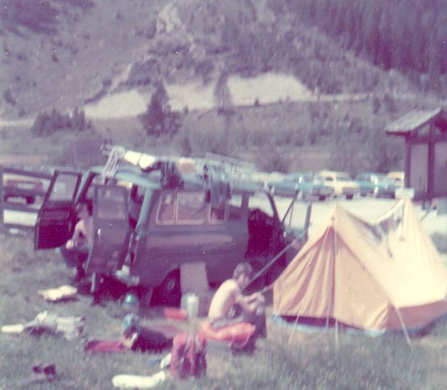 Camp before Ascent of Gross Venediger