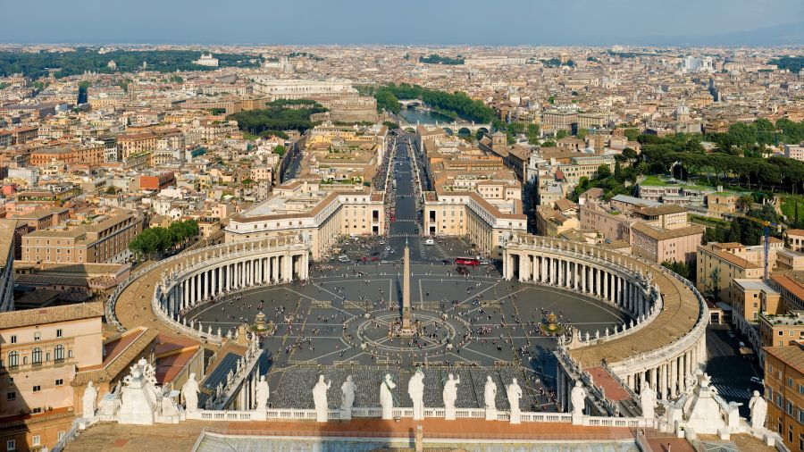 View from Vatican Palace
