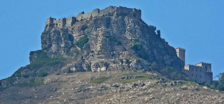 Castle of Venus on Sicily in Italy