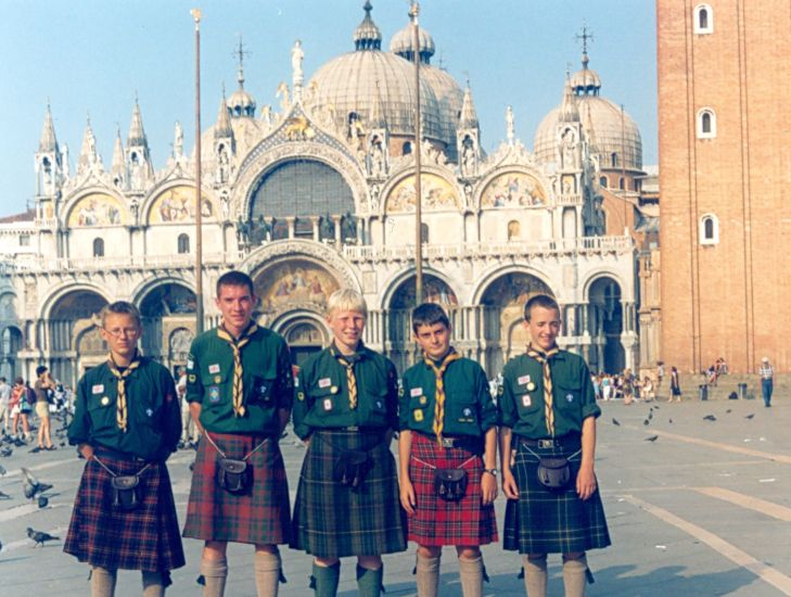St. Mark's Square and St Mark's Basilica in Venice