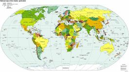 Maps of countries around the world political map of the world gumiabroncs Image collections