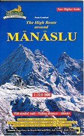Manaslu Circuit Map