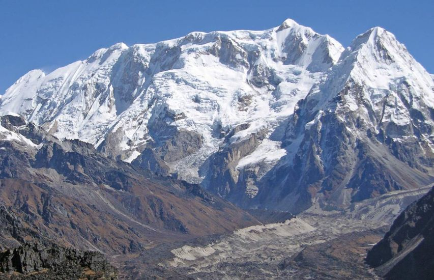 Talung, Kabru and Ratong - Kangchenjunga south side