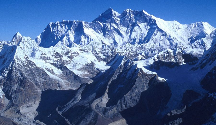 Nuptse, Everest & Lhotse