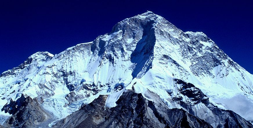 SW ridge of Mount Makalu