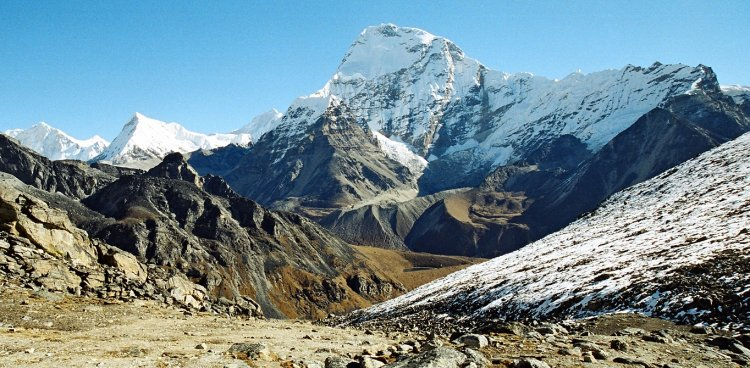 Chamlang in the Nepal Himalaya