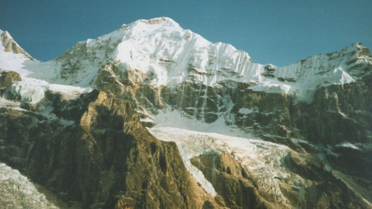 Talung from Oktang - Kangchenjunga south side