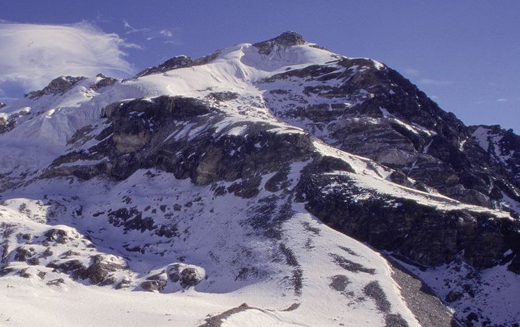 Yala Peak in the Langtang Valley