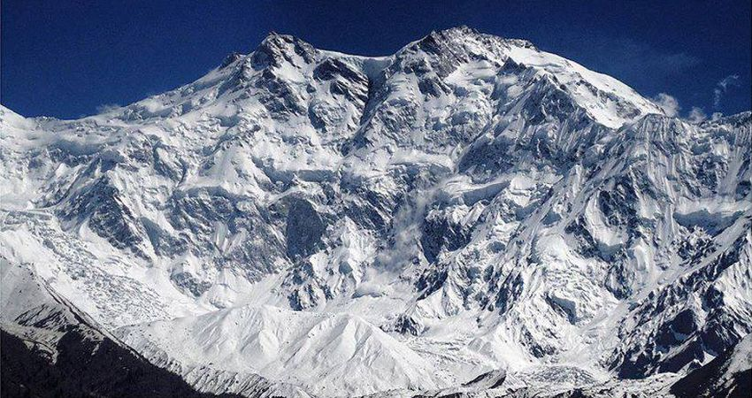 Nanga Parbat - the World's ninth highest mountain in the Pakistan Karakorum