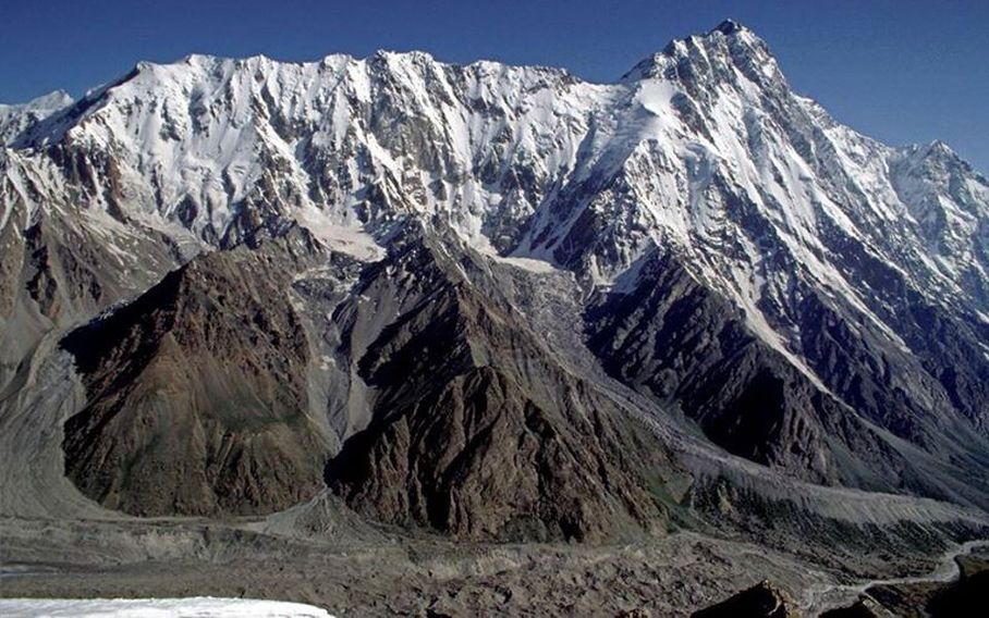 Rupal Face of Nanga Parbat - the World's ninth highest mountain in the Pakistan Karakorum