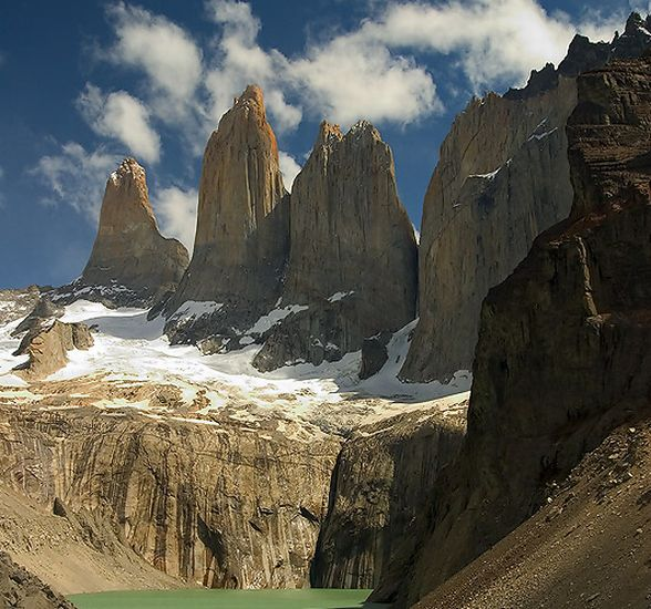 Torres del Paine in Patagonia, Chile, South America