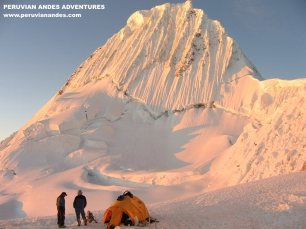 Photo Gallery of Climbing and Trekking in the Andes of Peru