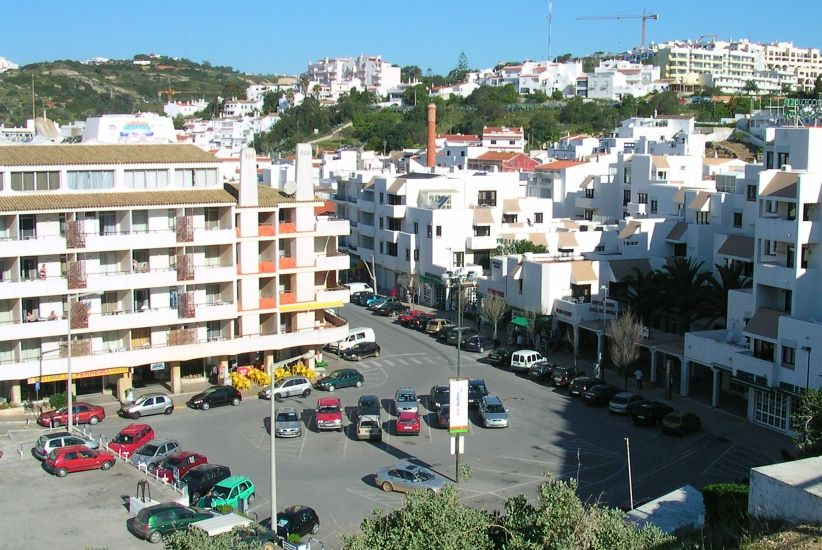 City of Albufeira in The Algarve in Southern Portugal
