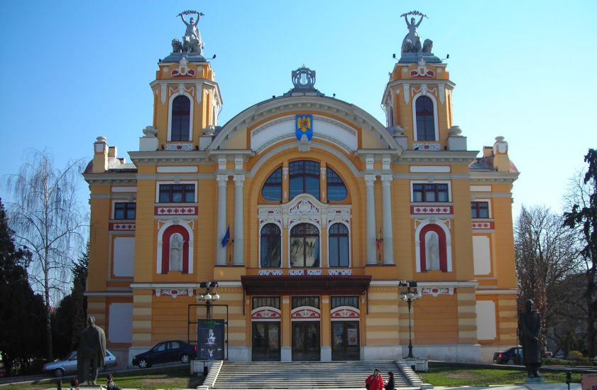 National Theatre in Cluj-Napoca in Romania