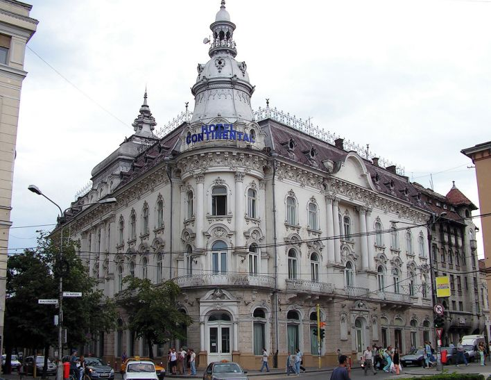 New York Palace in Cluj-Napoca Romania