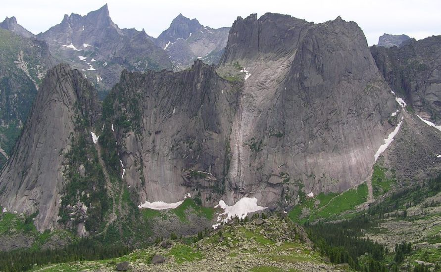 Ergaki Mountain Range in Russia