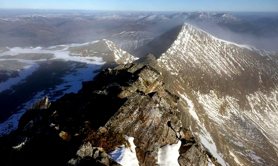 View from Stob Choire Claurigh