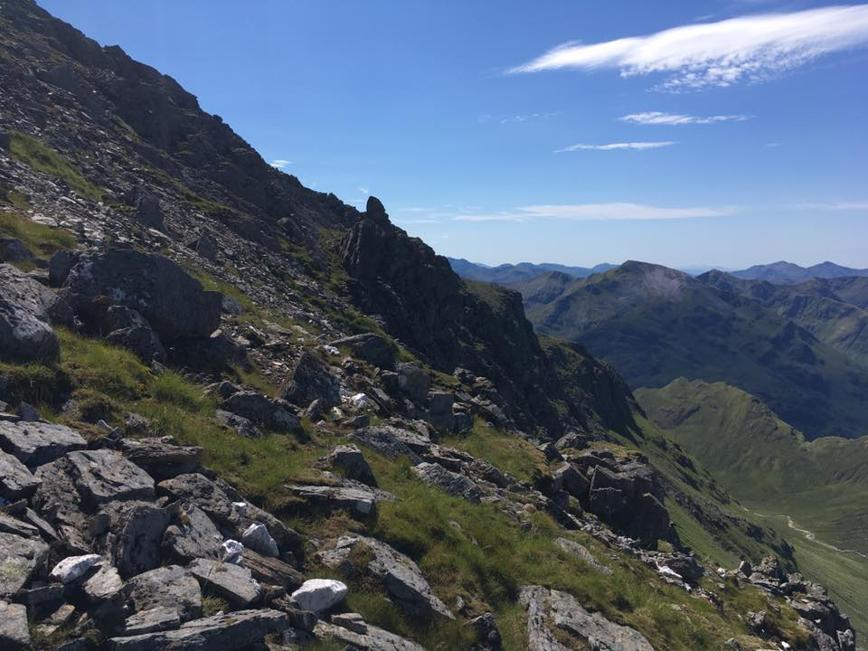 Ascent of Aonach Beag