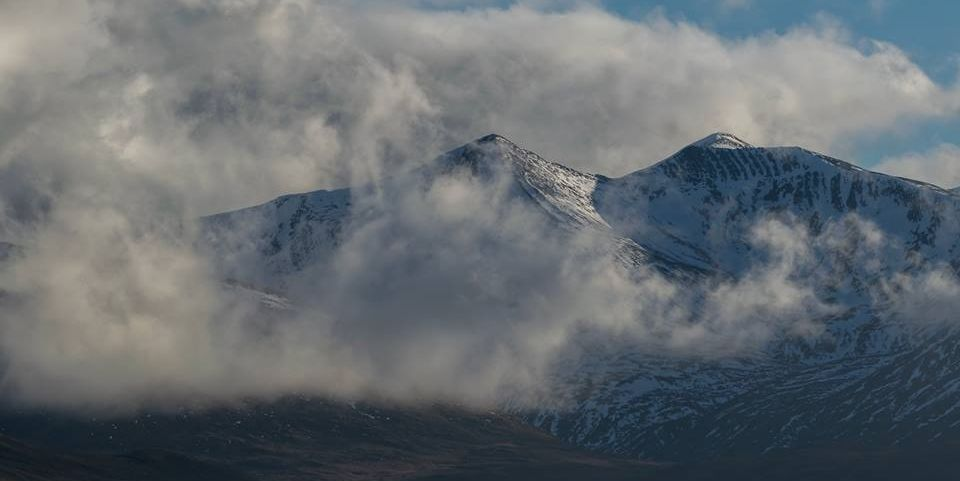 The Grey Corries from the North