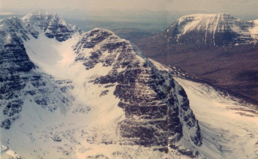 Liathach and Beinn Alligin in the Torridon region of the NW Highlands of Scotland